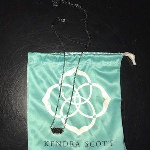 Kendra Scott Elisa Black necklace